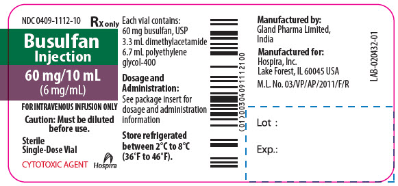 PRINCIPAL DISPLAY PANEL - 10 mL Vial Label