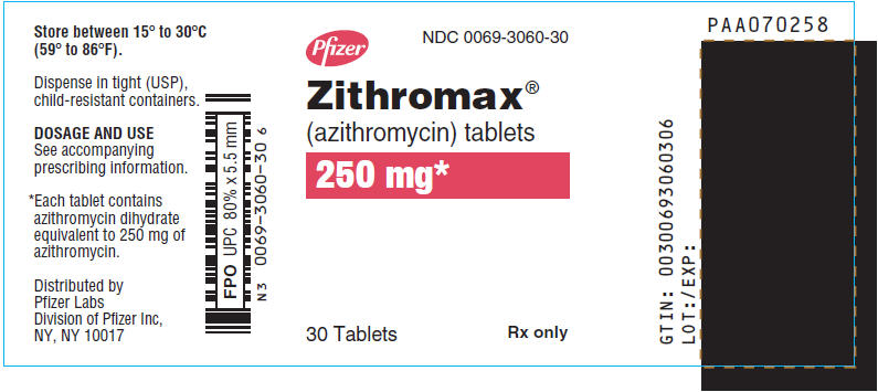 PRINCIPAL DISPLAY PANEL - 250 mg - 30 Tablet Bottle Label