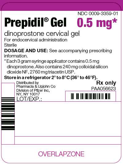 PRINCIPAL DISPLAY PANEL - 3 g Syringe Applicator Label